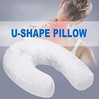 YOOUOOK U-Form Kopfstütze,Side Sleeper U-Form Kopfstütze,Seitenschläferkissen - U-förmig fördert die perfekte Schlafhaltung