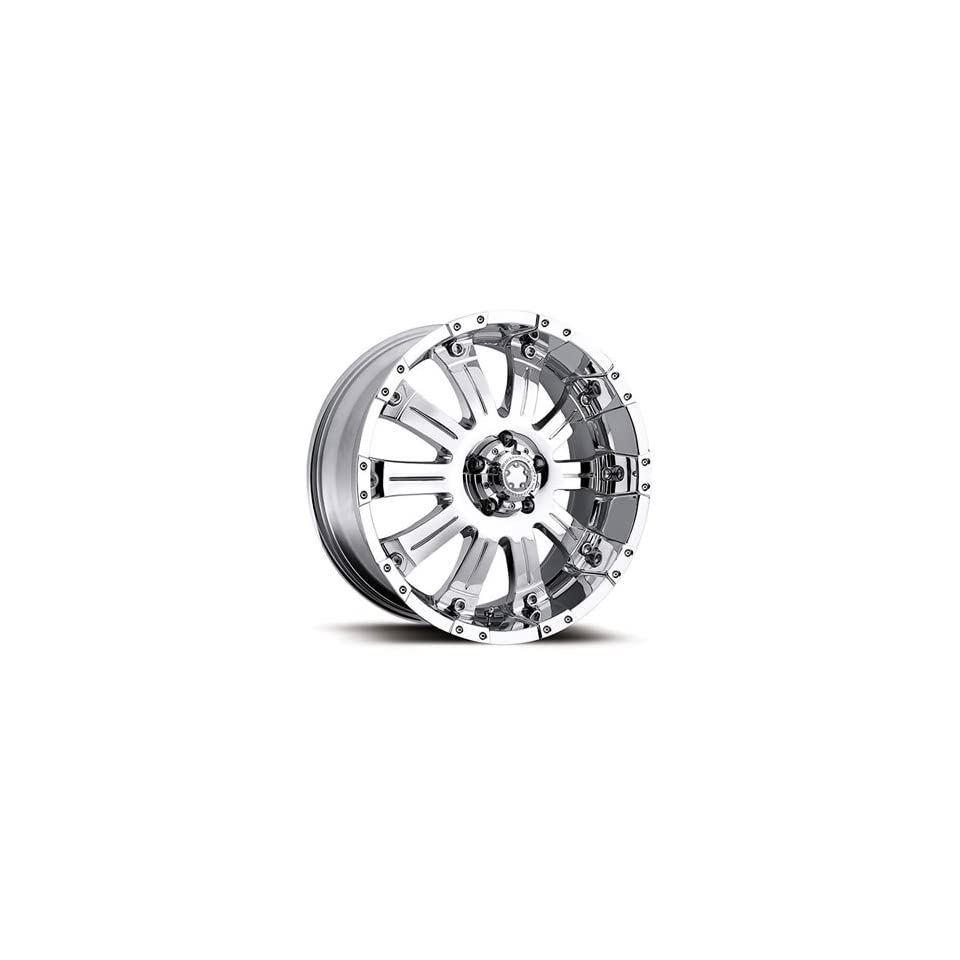 Ultra Mammouth 17x8 Chrome Wheel / Rim 6x5.5 with a 0mm Offset and a 108.00 Hub Bore. Partnumber 227 7883C