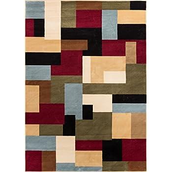 Amazon Com Imperial Mosaic Multicolor Geometric Modern