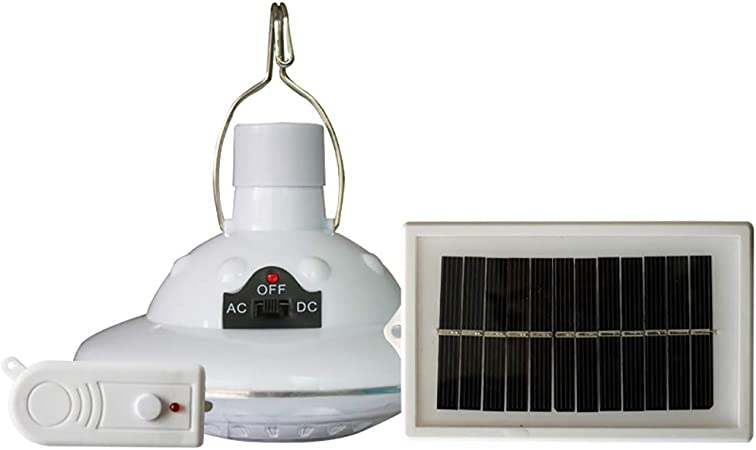 H.Y.FFYH Luz LED Solar LED Ronda Lámpara de Control Remoto ...