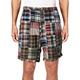 Polo Ralph Lauren Mens Plaid Classic-Fit Casual Shorts Navy M
