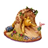 Disney Traditions by Jim Shore 4016587 Classic Winne the Pooh Stuck in Rabbit Hole Figurine 6-Inch