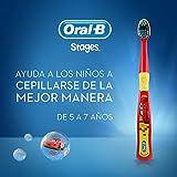 Oral B Stages Cepillo Dental Infantil con personajes de Disney, (edad: 5 a 7 años) 1 pieza, colores surtidos