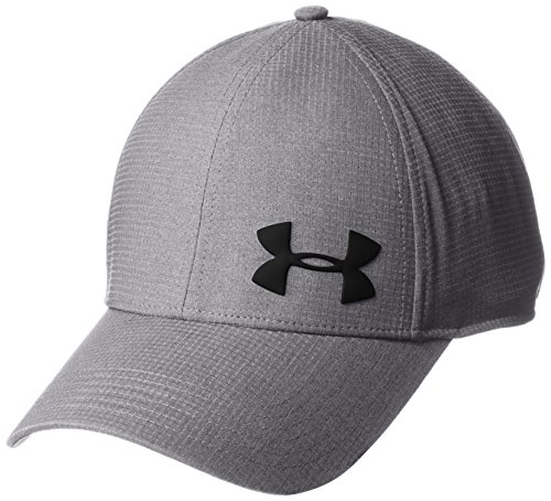 Under Armour Men's ArmourVent Training Cap, Graphite /Black, Medium/Large (Under Armour Hats For Men)