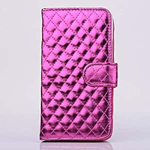 Credit Card Wallet PU+PC Flip Stand Case Cover Skin For Samsung Galaxy Note 3 N9000-Hot Pink
