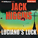 Luciano's Luck Audiobook by Jack Higgins Narrated by Michael Page