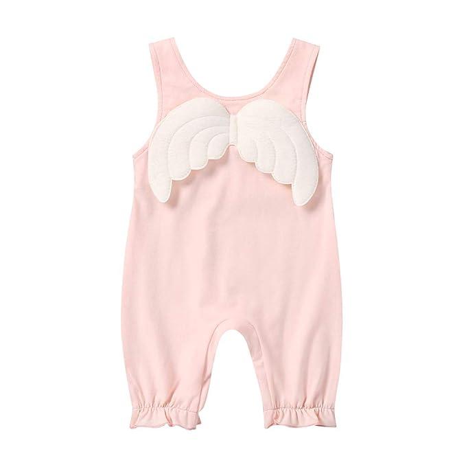 Wang-RX Ropa Infantil para bebés, niños, niñas, Mameluco ...