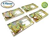 PTCLTRAPS Metal Rat Trap - Durable Reusable Design - Snap Trap for Rats (4)