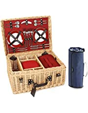 Greenfield Collection Picnic Hamper for 4-People