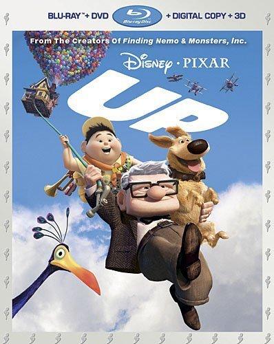 3 Disc Combo (Up (Five-Disc Combo: Blu-ray 3D/ Blu-ray/ DVD + Digital Copy) by Walt Disney Video)
