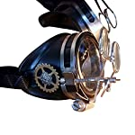 Steampunk Victorian Goggles welding Glasses 6