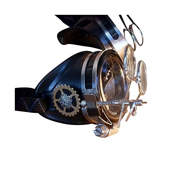 Steampunk Victorian Goggles welding Glasses 3