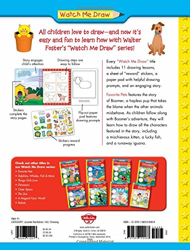 Favorite Pets: A step-by-step drawing and story book for ...
