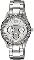 Fossil Women's ES3588 Stella Multifunction Stainless Steel Watch