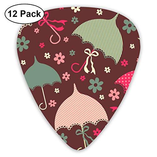 - Umbrellas Small Medium Large 0.46 0.73 0.96mm Mini Flex Assortment Plastic Top Classic Rock Electric Acoustic Guitar Pick Accessories Variety Pack