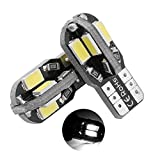 Connoworld Clearance Sale 2Pcs T10 5630 8SMD Vehicle LED Light License Plate Trunk Car Driving Lamp Bulbs