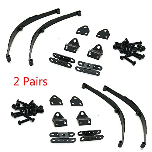 (1/10 Rock Crawler Steel Leaf Spring Suspension Set for 1/10 D90 Crawler )