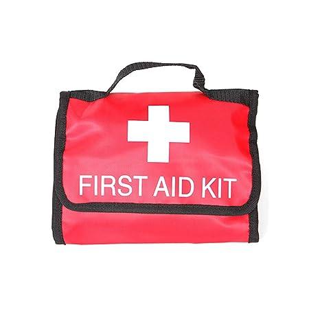 Amazon com : Portable Family First Aid Kit - Emergency