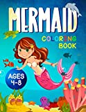 Mermaid Coloring Book: For Kids Ages 4-8