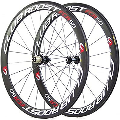 Club Roost FCR50 - Full Carbon road wheels/rims compatible with ...