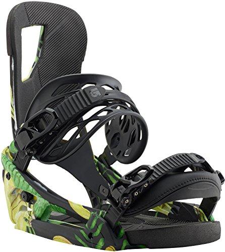 Burton Cartel EST Snowboard Bindings Mens Sz L (10+) (Binding All Snowboard Terrain)