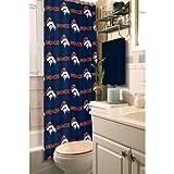 Northwest NOR-1NFL903000004RET Denver Broncos NFL Shower Curtain
