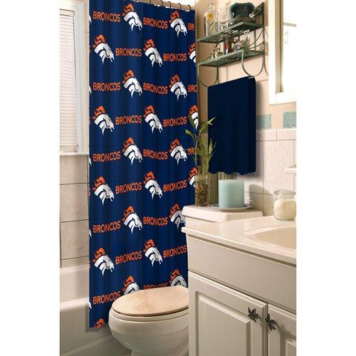Northwest 903 NOR-1NFL903000004RET Denver Broncos NFL Shower Curtain