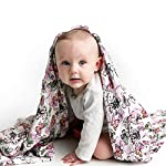 Muslin-Swaddle-Blanket-Set-Flutter-Large-47×47-inch-Super-Soft-Bamboo-Blankets-Flowers-Butterflies-and-Florals-3-Pack-Baby-Shower-Gift-Bundle-of-Swaddles-for-Girls-10000-Wash-Warranty