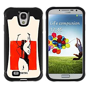Suave TPU GEL Carcasa Funda Silicona Blando Estuche Caso de protección (para) Samsung Galaxy S4 IV I9500 / CECELL Phone case / / Abstract Portal Painting /