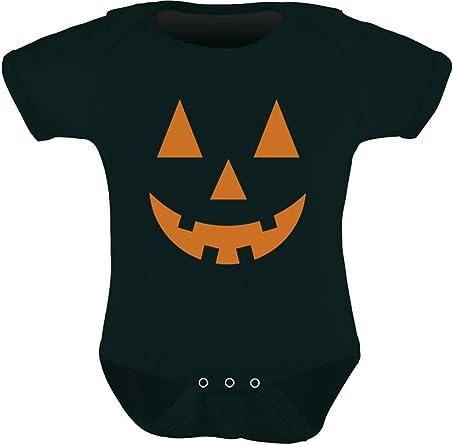 Infant /& Toddler Girls Black Jack-O-Lantern Halloween Shirt Pumpkin T-Shirt