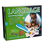 Hibou Language Learning Set Talking Pen Cards&Stickers Educational Toy