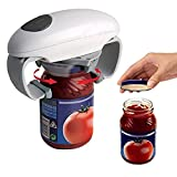 Automatic Electric Can Opener By Sunta,Jar Bottle Opener Once Touch Electric Jar Opener for The Hands Free Easy Open for The Aged and Weak Hand