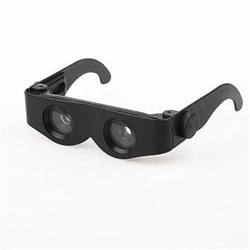 RDJM zoomies manos libres producto lupa espejo telescopio aumento 400% prismáticos gafas multifuncionales: Amazon.es: Deportes y aire libre