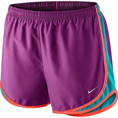 Nike Womens Tempo Short Cosmic Purple / Omega Blue / Bright Crimson