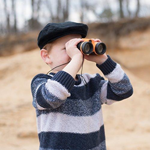 Exploration Kit for Kids – Outdoor Gear Gift Set for STEM Learning & Nature Exploring for Children – Compass, Binoculars,Magnifying Glass, Flashlight Backpack Pack for Toddler Boys & Girls by Trendsettings (Image #2)