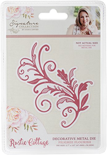 (Crafter's Companion S-RC-MD-FFLO Sara Davies Signature Rustic Cottage Metal)