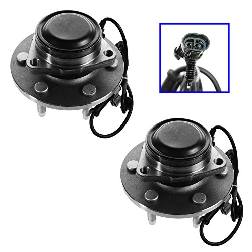 Gmc 2wd Pickup (TRQ Front Wheel Bearing & Hub Assembly Pair for Chevy GMC Pickup Truck 2WD Van)