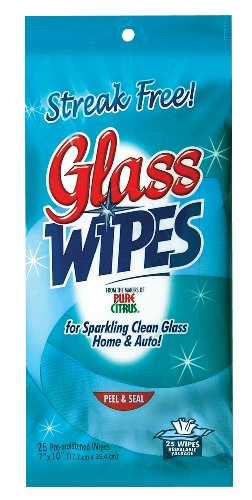 Blue Magic NA250 Glass Wipes - 25 Piece