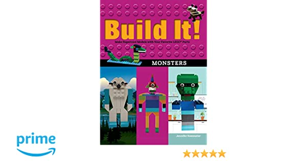 Build It! Monsters: Make Supercool Models with Your Favorite ...