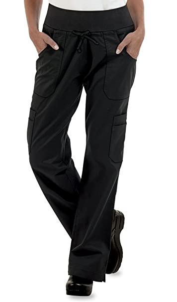 Amazon.com: Pantalón elástico para mujer de Yoga Cargo Chef ...