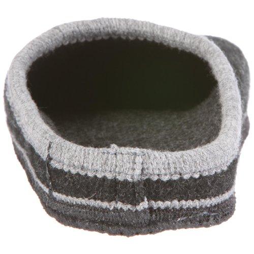 Kitz-Pichler Bio Fit Unisex-Erwachsene Pantoffeln Grau (kohle 2284)