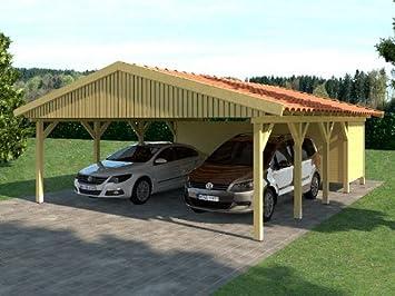 Carport Satteldach Hockenheim Ii 600x800cm Gerateraum