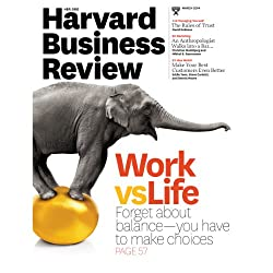 Harvard Business Review, March 2014