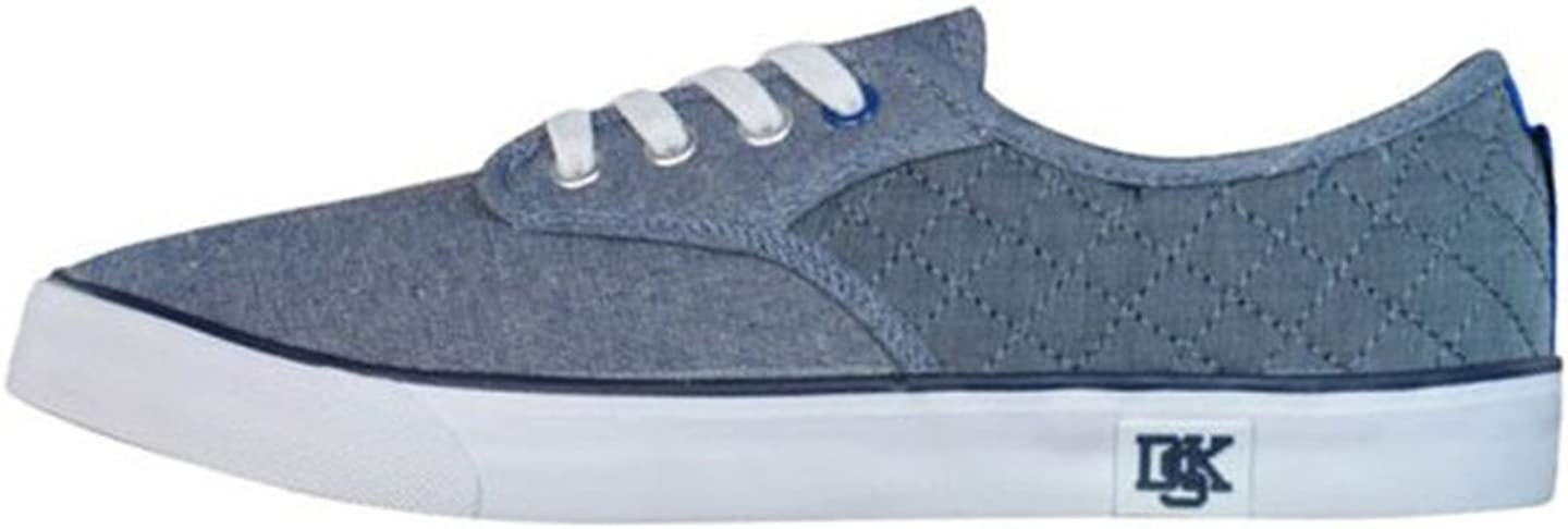 Blue Grey Nicholas Deakins Sensei Mens Canvas Sneakers//Shoes