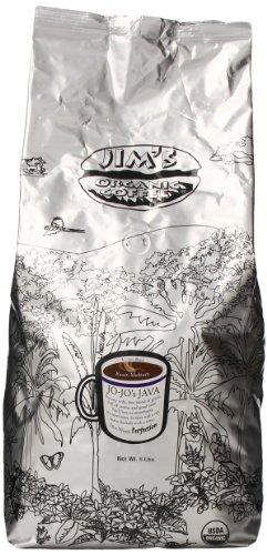 Jim's Organic Coffee, Jo Jo's Java, 5-Pound