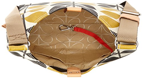 Orla Kiely Stem Check Print Mini Sling Bag, Dandelion by Orla Kiely (Image #5)