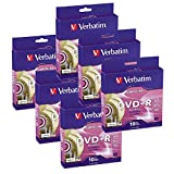 Verbatim 16x DVD+R LightScribe Blank Media, 4.7GB/120min - 60 Pack (95116)