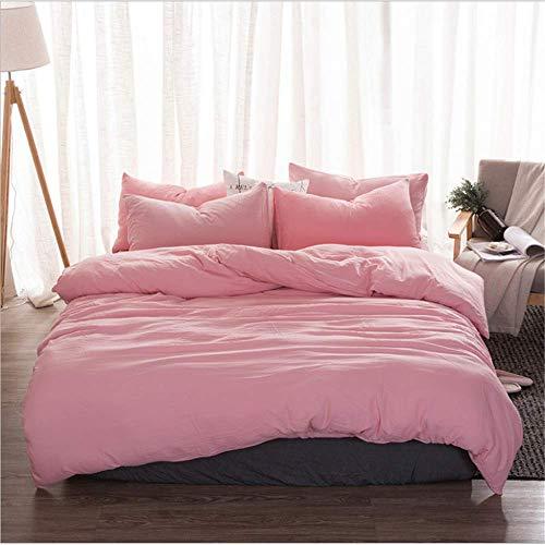 (SSHHJ Duvet Cover Queen King Size Bedding Set Microfiber Fabric Bed Quilt D 150x200cm)