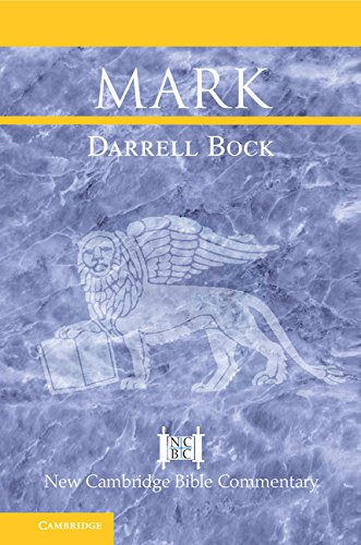 Download Mark (New Cambridge Bible Commentary) Pdf