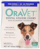 Oravet 14 Count Oravet Dental Hygiene Chew for Small Dogs